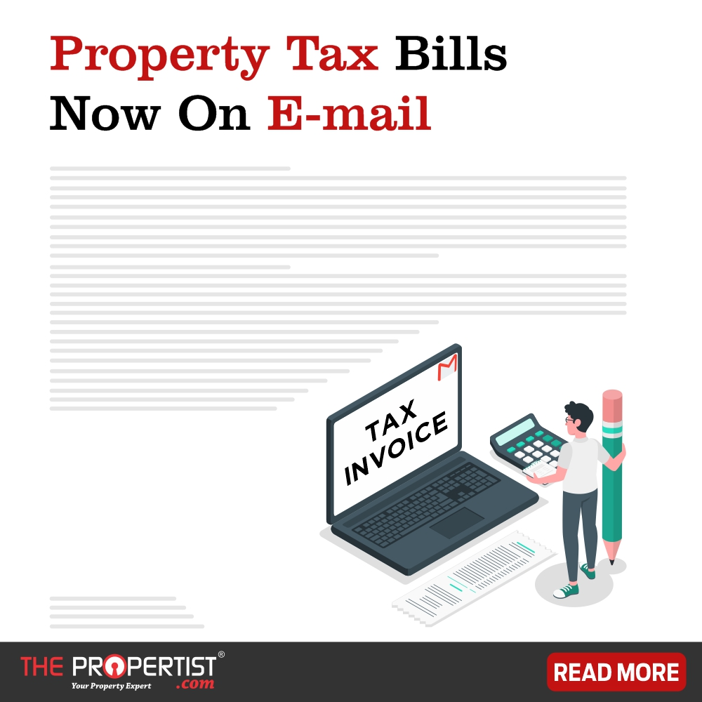 Property Tax Bills Now on Email