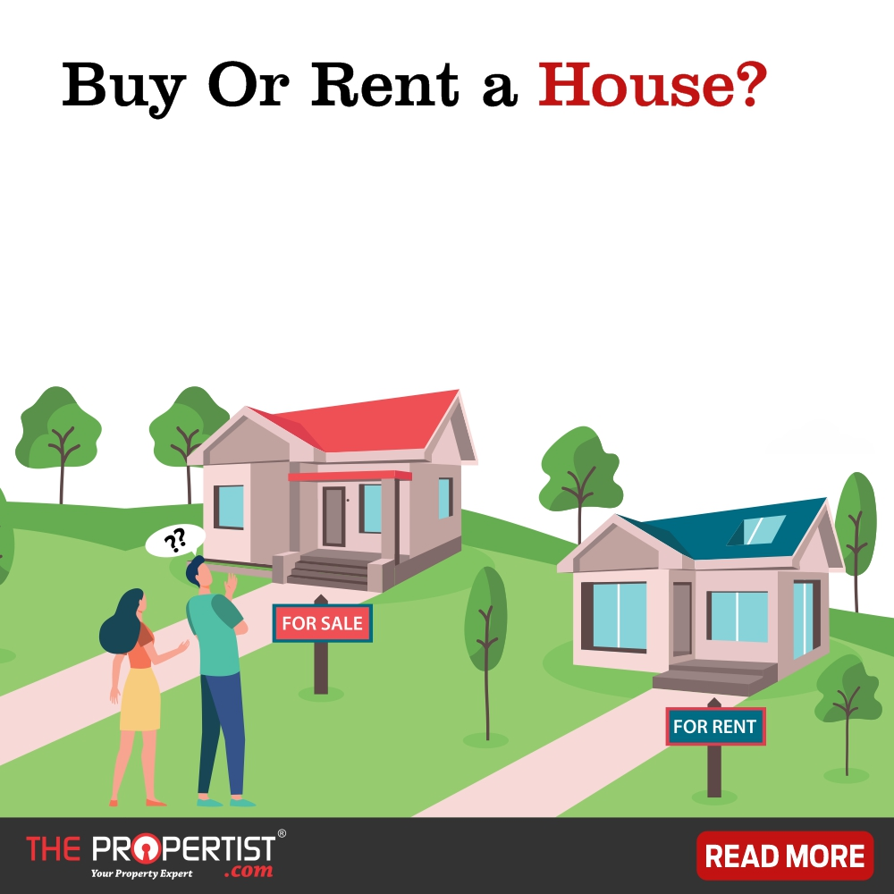 Facing confusion between buying or renting a house