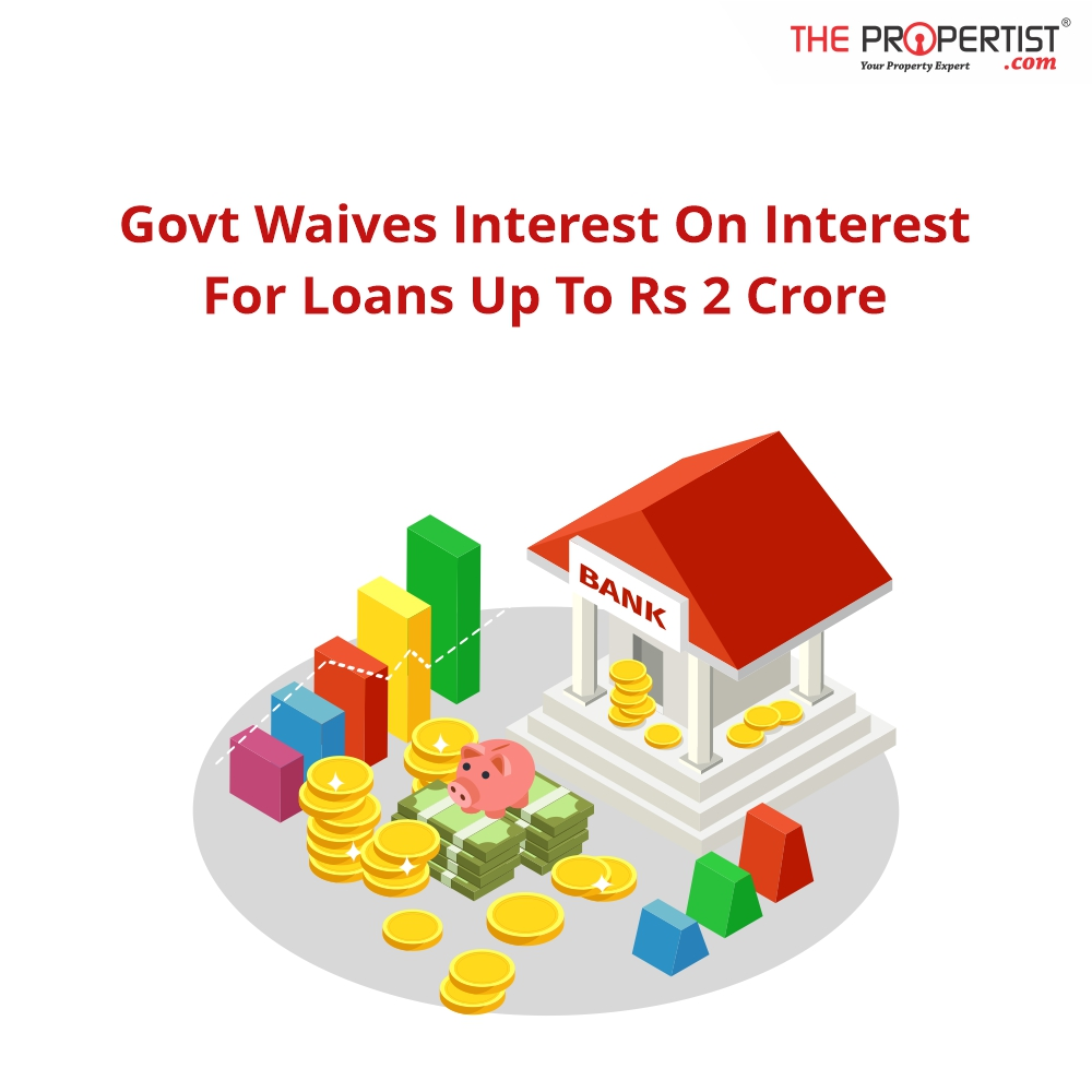 Govt waives interest on interest for loans up to Rs 2 crore